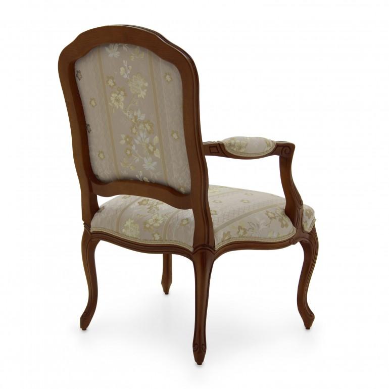 8180 classic style wood armchair teseo4