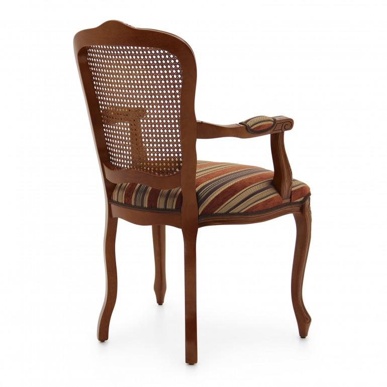 819 classic style wood armchair fiorino3
