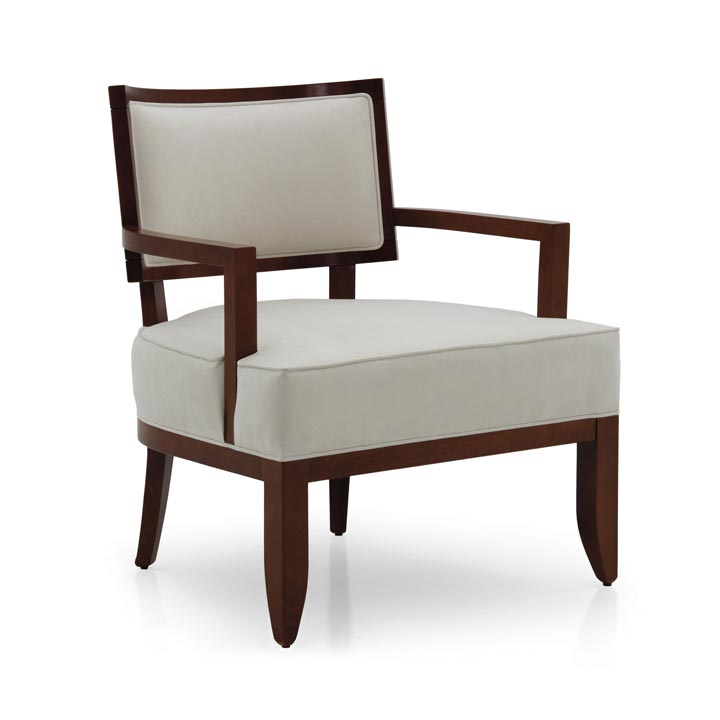 82 modern style wood armchair nora