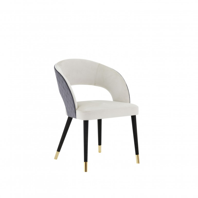 820 modern style wood chair giulia