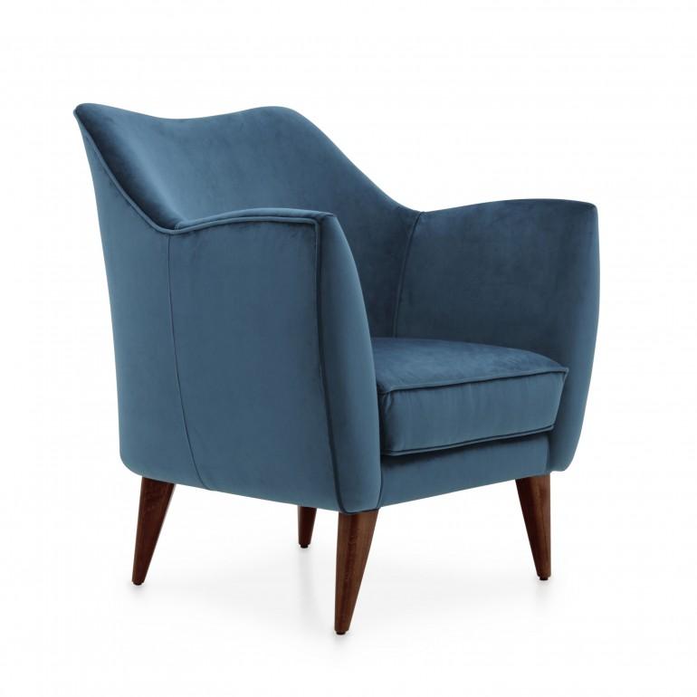 8308 modern style wood armchair split10