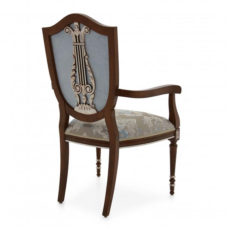 8409 classic style wood armchair violino b4