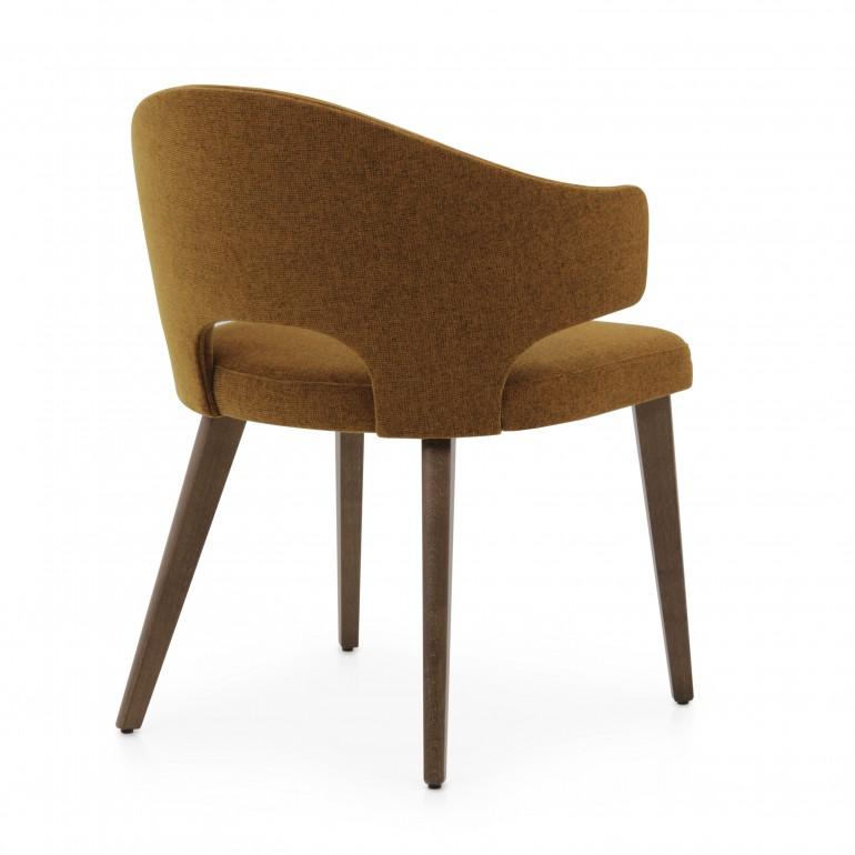 8449 modern style wood armchair eva8