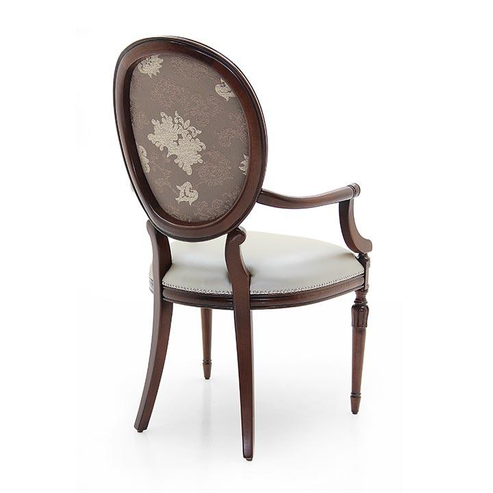 846 classic style wood armchair olga6