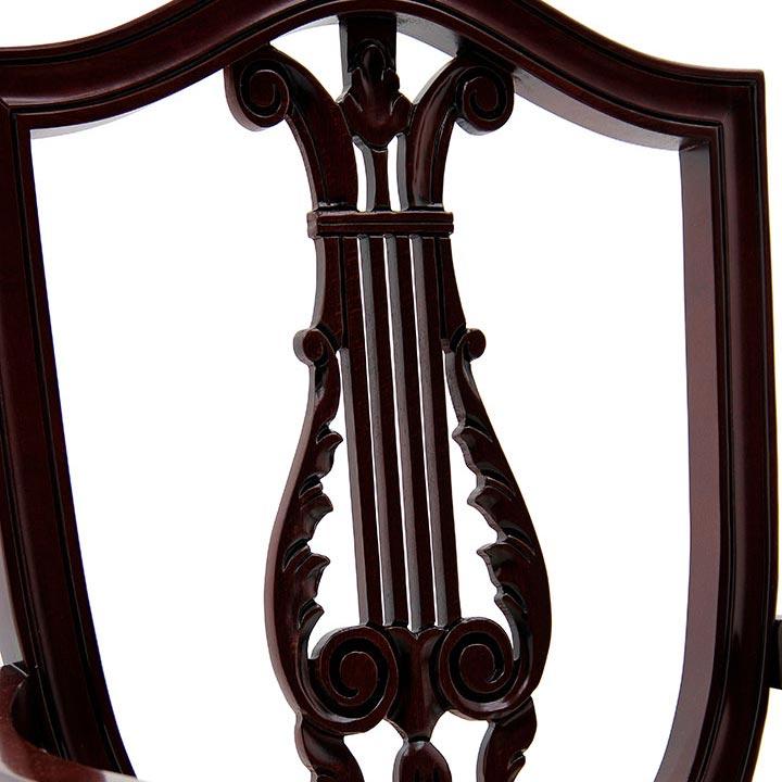 850 classic style wood armchair violino c4