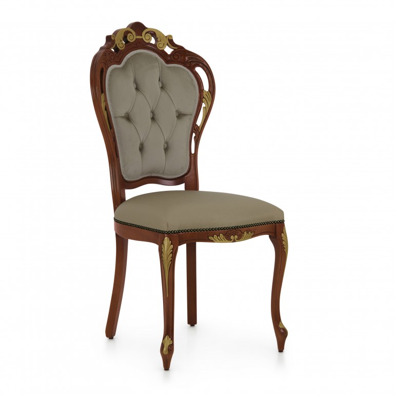 8505 classic style wood chair traforata3