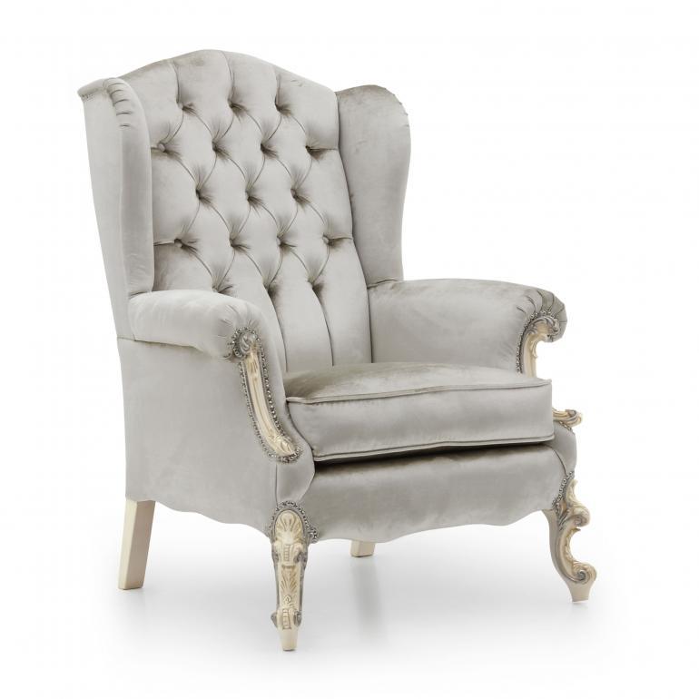 8516 classic style wood armchair eneide7