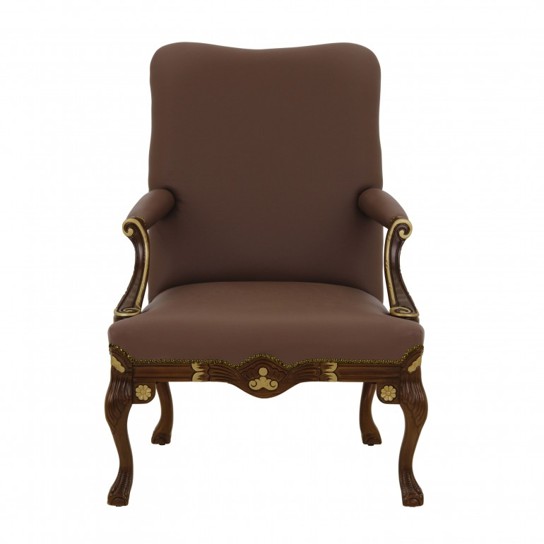 8587 classic style wood armchair stradivari4