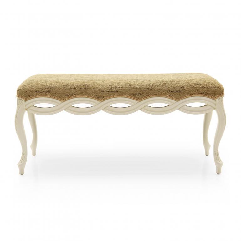 86 classic style wood bench intreccio4