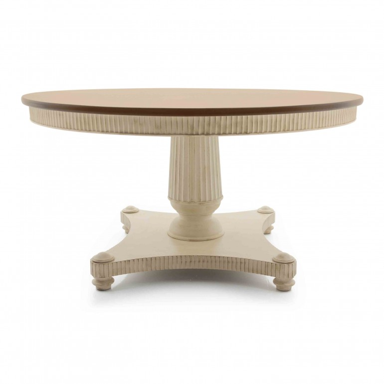 864 classic style wood table priamo1