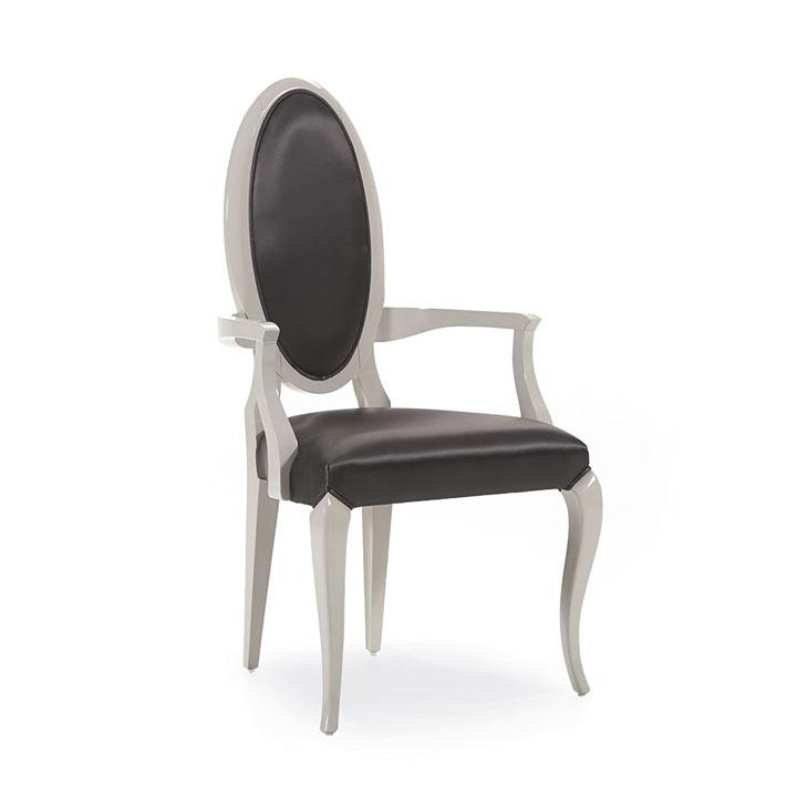 87 modern style wood armchair capriccio