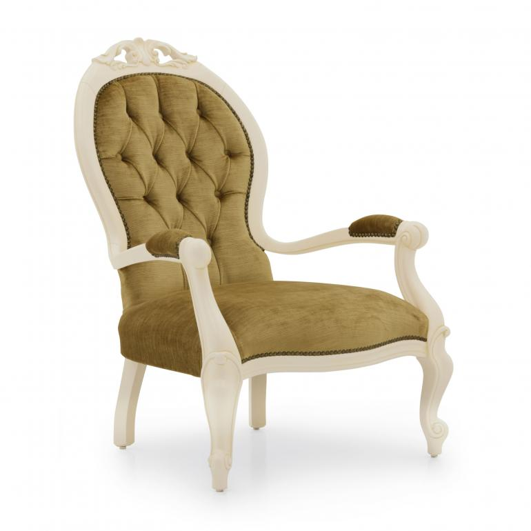 8752 classic style wood armchair pollia b5