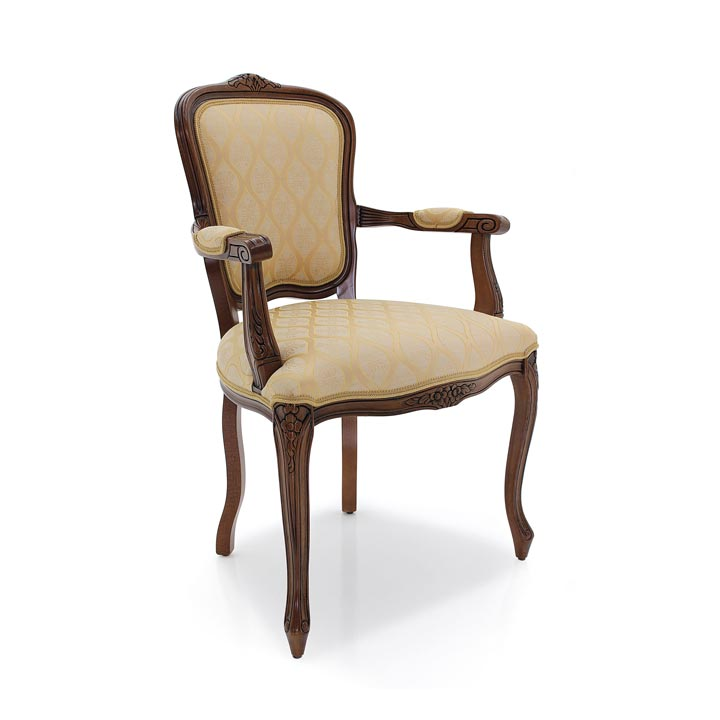 876 classic style wood armchair fiorino5