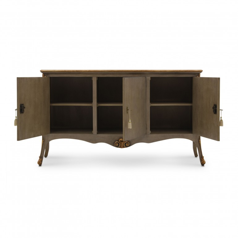 8773 classic style wood sideboard aura b7