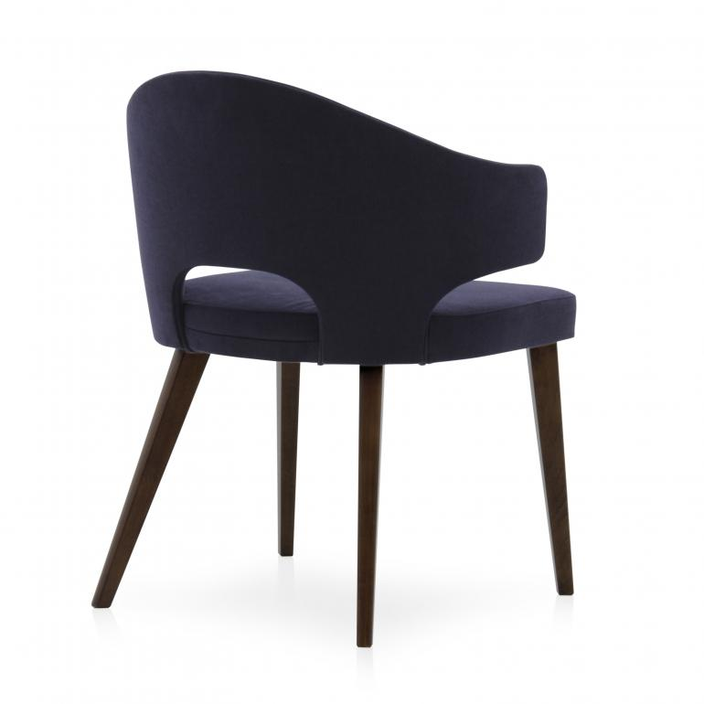 8860 modern style wood armchair eva6