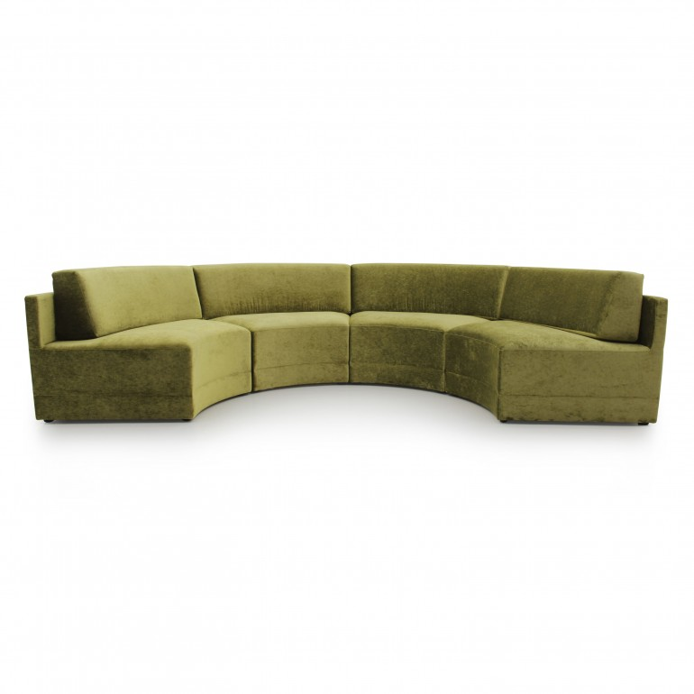 contemporary style wooden sofa