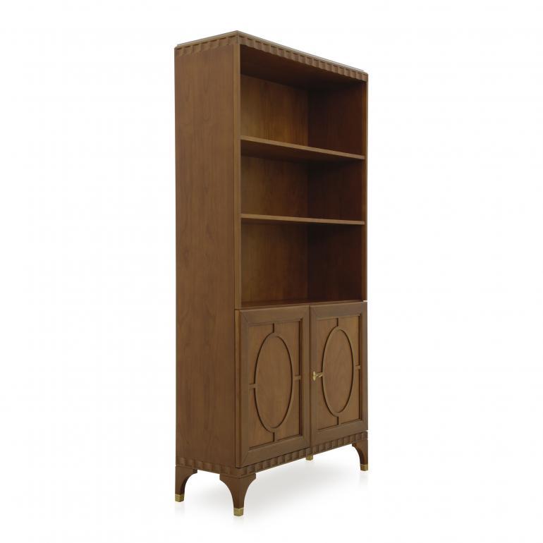 8898 modern style wood bookcase ellipse3
