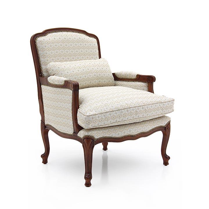 891 classic style wood armchair carmen3