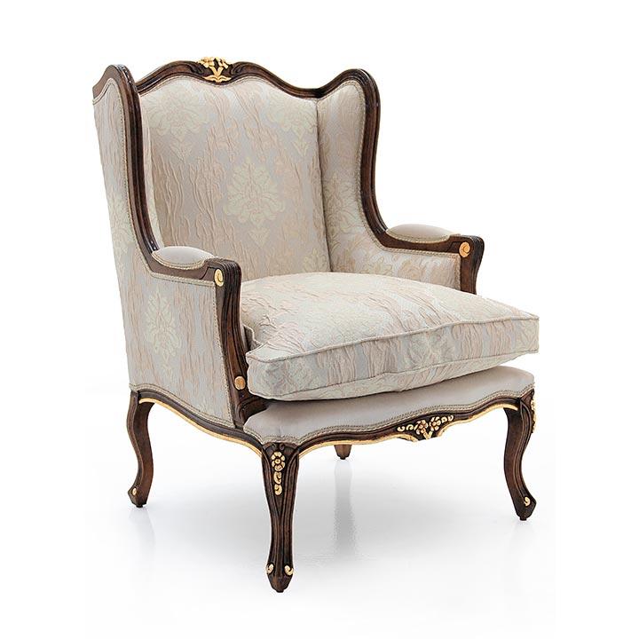 893 classic style wood armchair enea4
