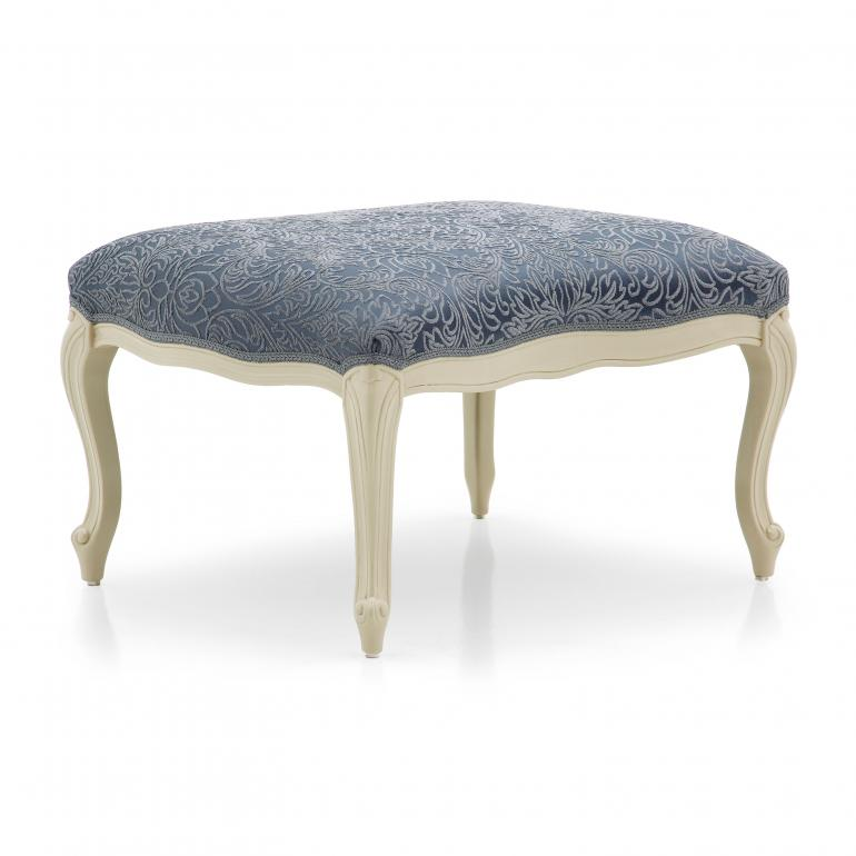 8939 classic style wood ottoman astrid