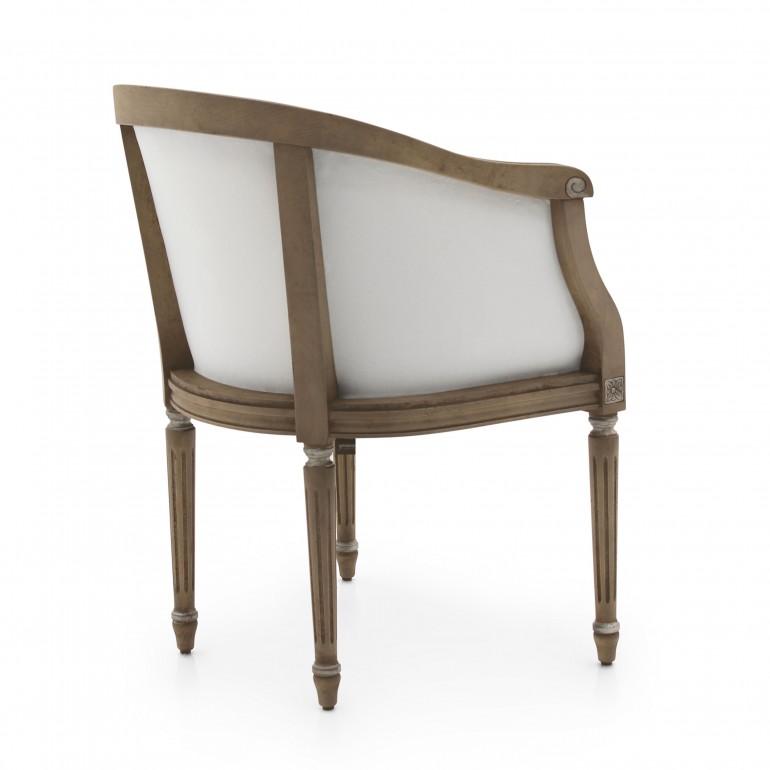8978 classic style wood armchair luigi b5
