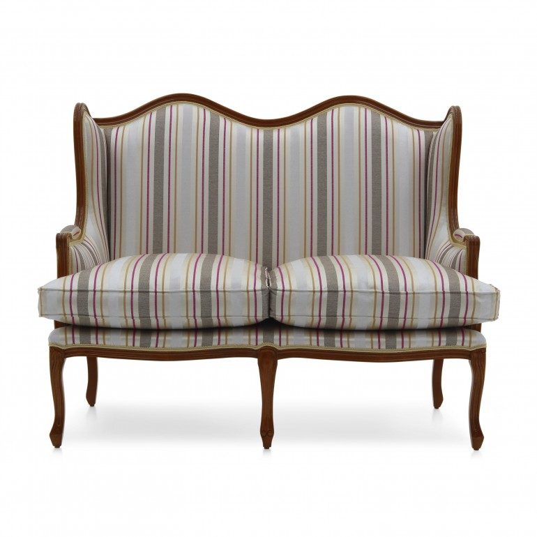 8988 classic style wood sofa elena