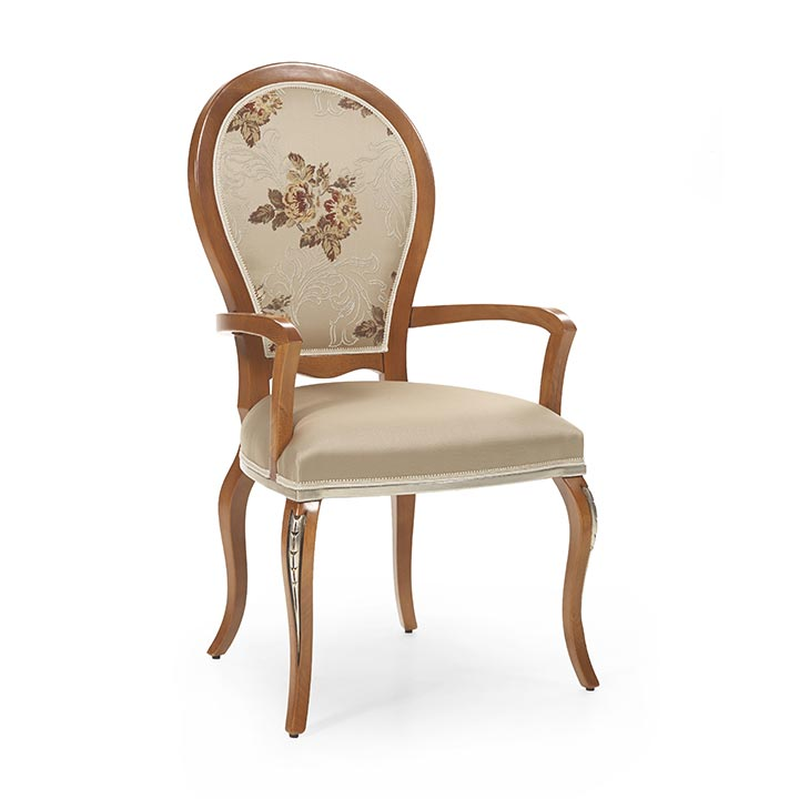 90 classic style wood armchair maria