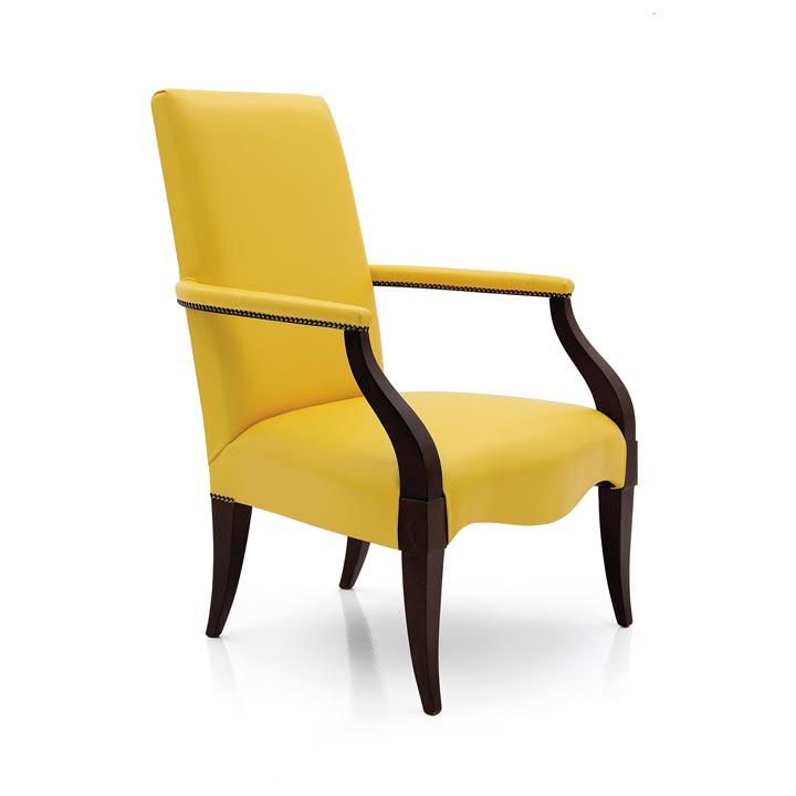 900 modern style wood armchair luna2