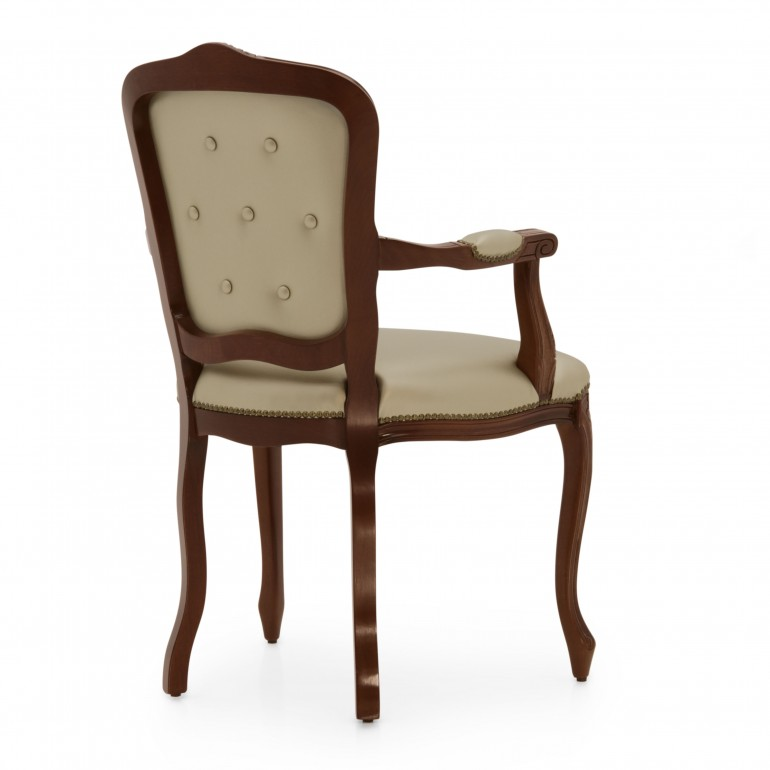 9005 classic style wood armchair fiorino6