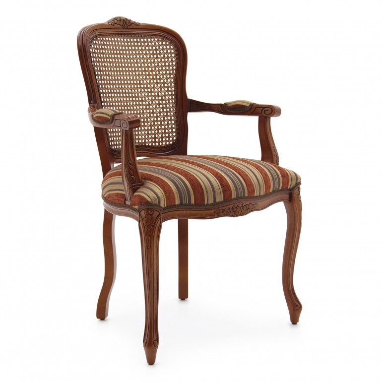 9145 classic style wood armchair fiorino2