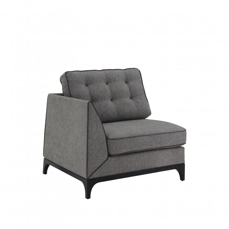 9214 modern style wood armchair mystirio