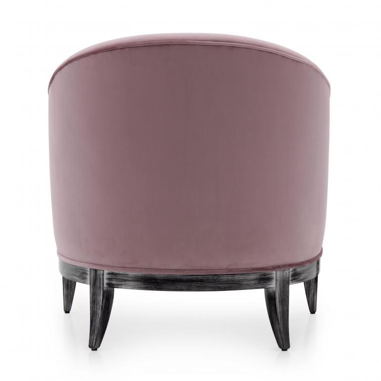 923 modern style wood armchair king8