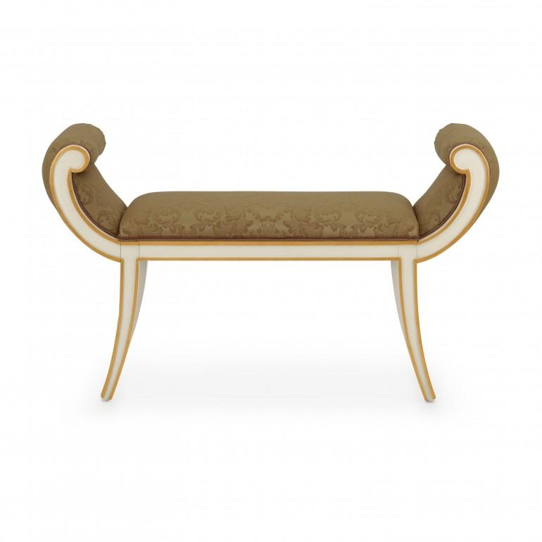 9232 classic style wood bench barchetta3
