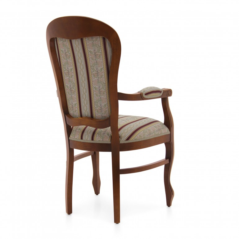 9423 classic style wood armchair mose5