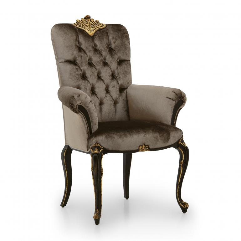 9469 classic style wood armchair bronte6