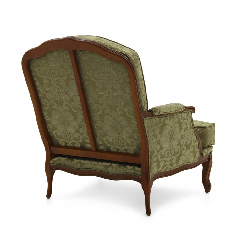 9488 classic style wood armchair acca5