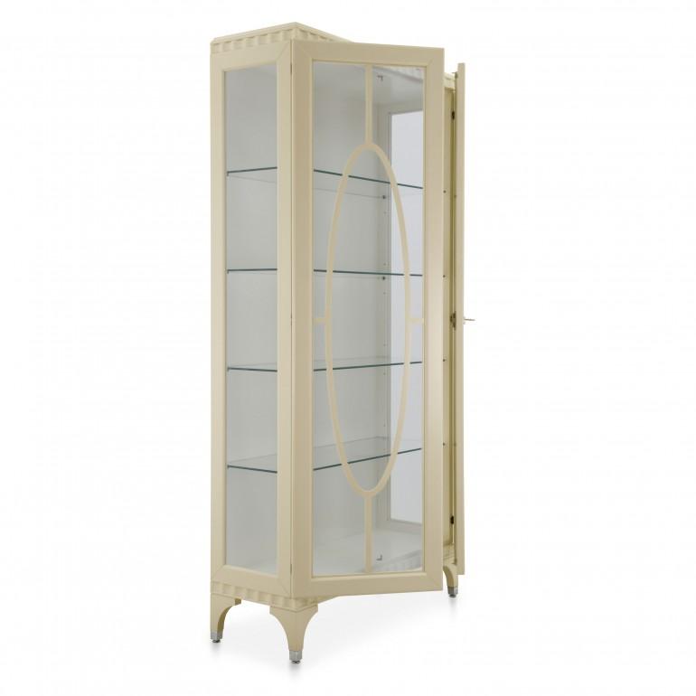 9576 classic style wood glasscupboard ellipse b4