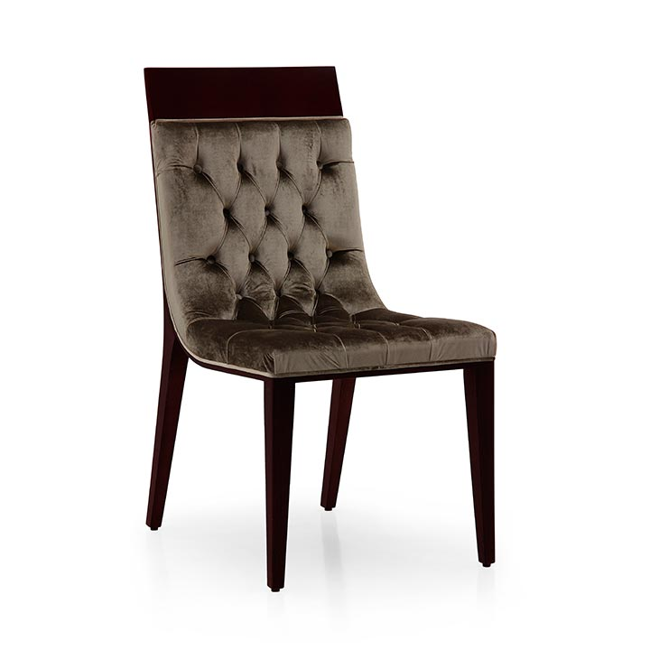 96 modern style wood chair pisa
