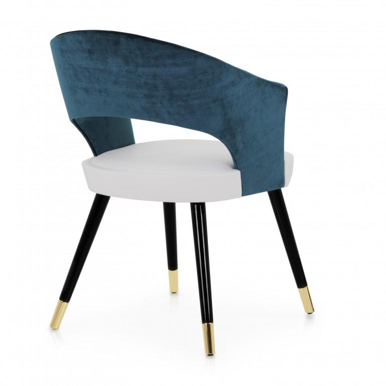 9672 modern style wood armchair lucrezia9