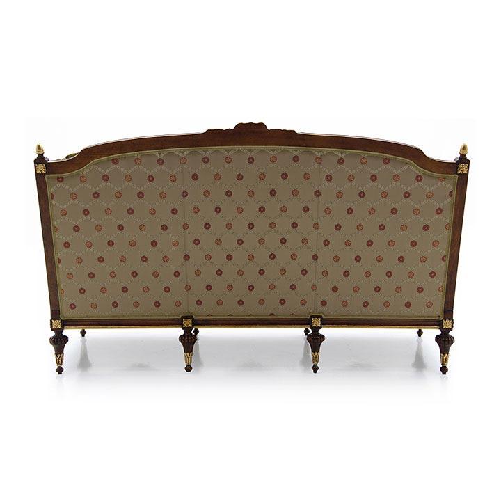 968 baroque style wood sofa giove5