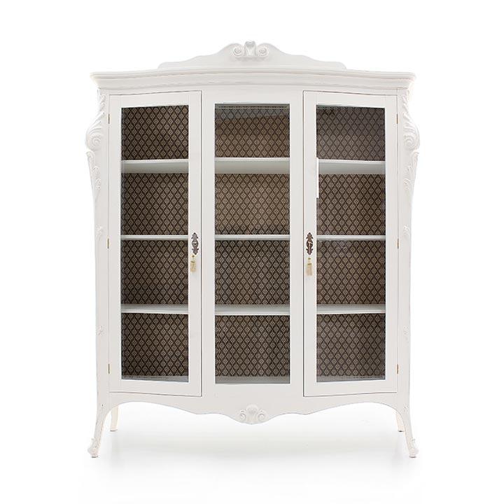 970 classic style wood glass cupboard aura4