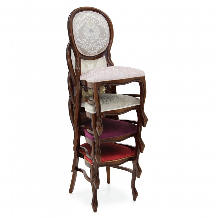 9707 classic style wood chair liberty4