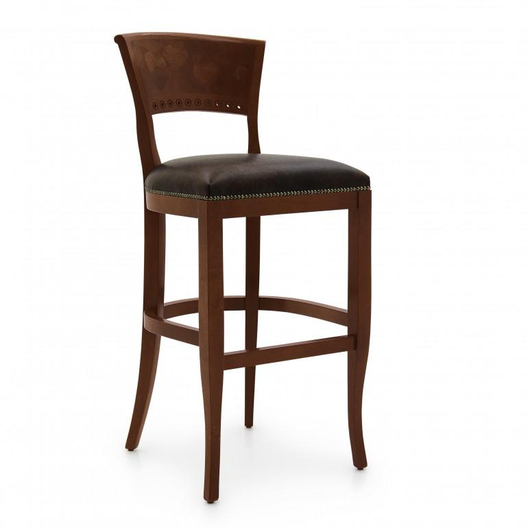 9773 classic style wood barstool radica