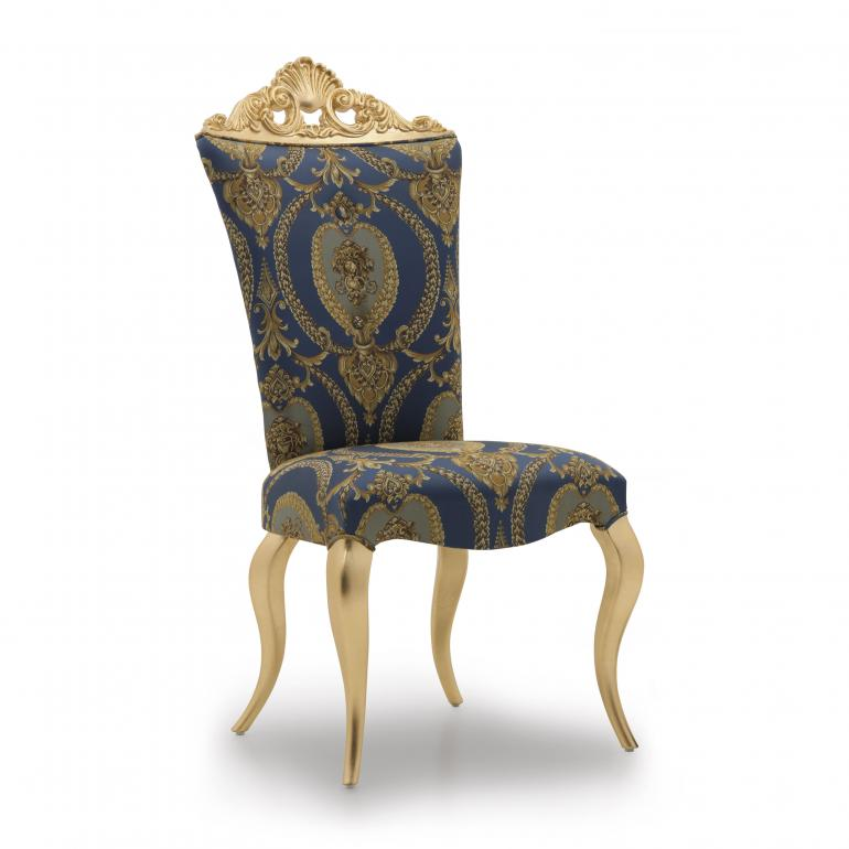baroque style wood chair siatena 931
