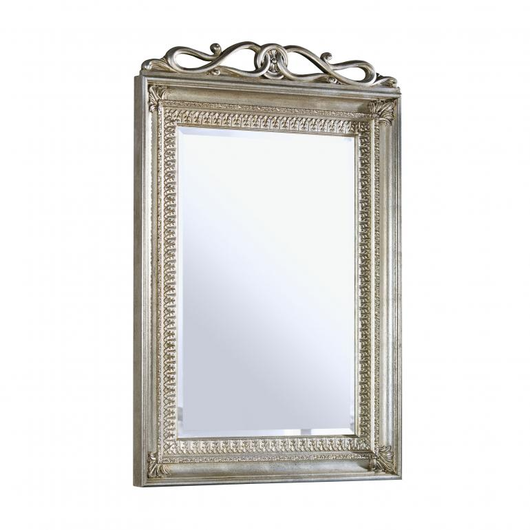 baroque style wood mirror andromeda 6461 3012