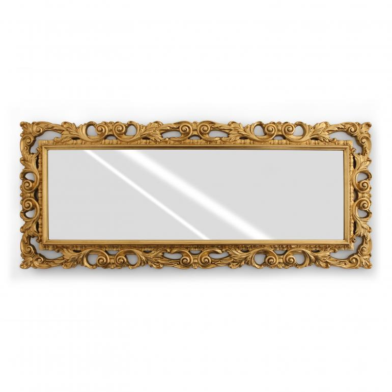 baroque style wood mirror crisilla 1576 6997
