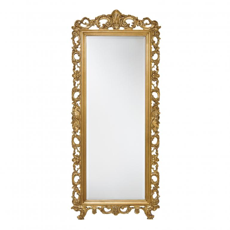baroque style wood mirror ester b 6571 6547