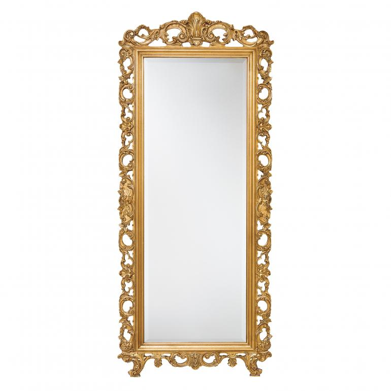 baroque style wood mirror ester c 1001 2059