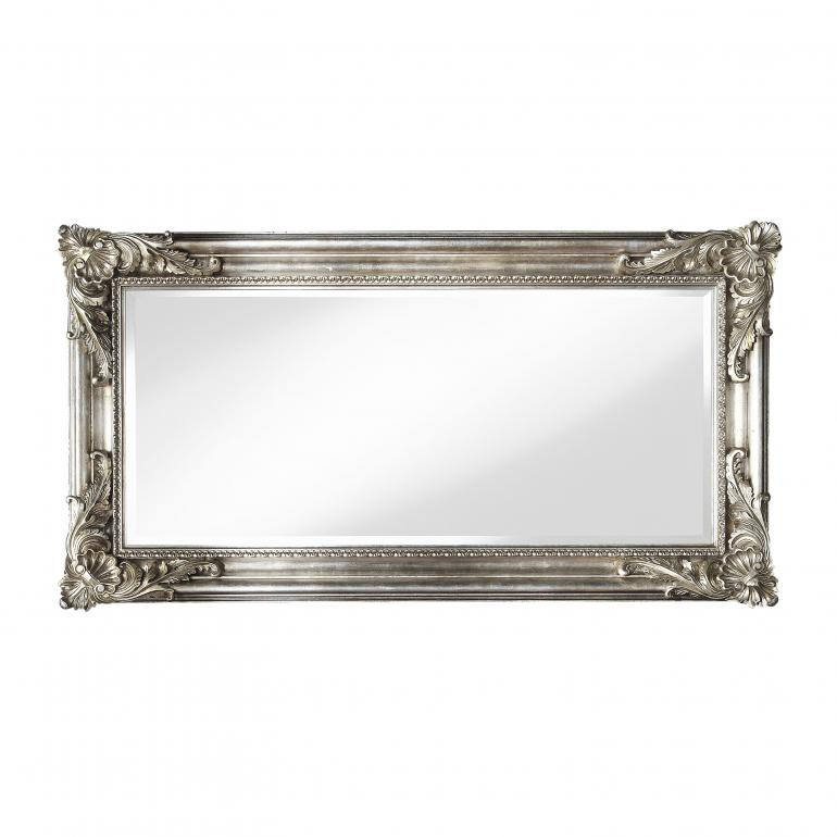 baroque style wood mirror martina 2020 8621