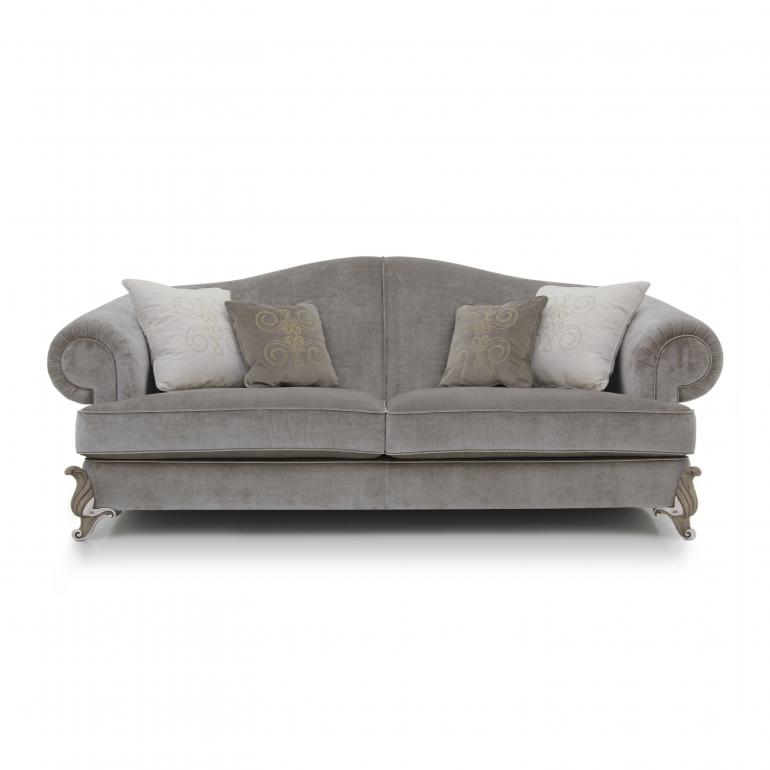 baroque style wooden sofa